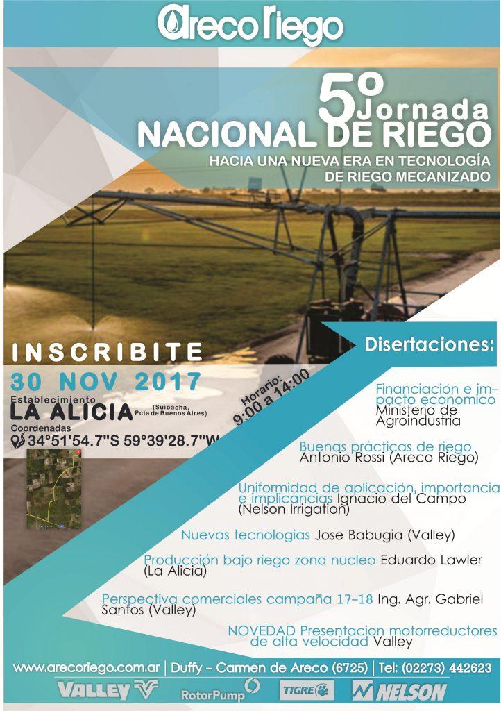 5ª JORNADA NACIONAL DE RIEGO