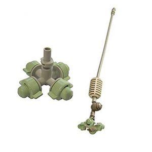 COOLNET PRO cruz (cabezal  + valvula antidrenante + tubin 30CM + estabilizador y conector barb) Netafim
