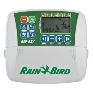 Programador de riego para interiores  6 zonas Serie ESP-RZXe Rainbird