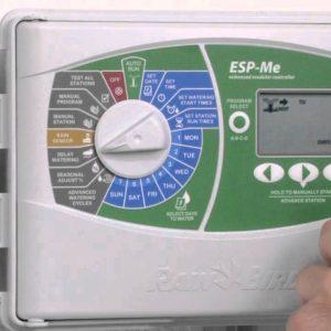 Programador de riego para interiores y exteriores de 4 zonas Serie ESP-Me Rainbird